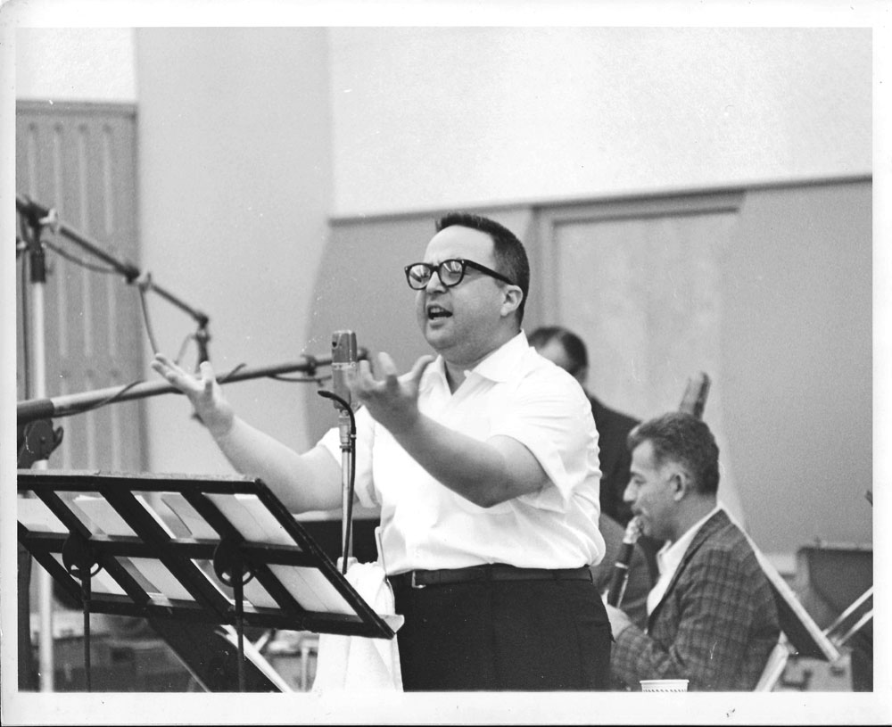 Allan Sherman 62 or 63 Session